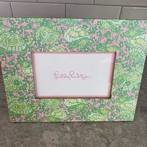 Adorable Lilly Pulitzer Turtles Picture Frame